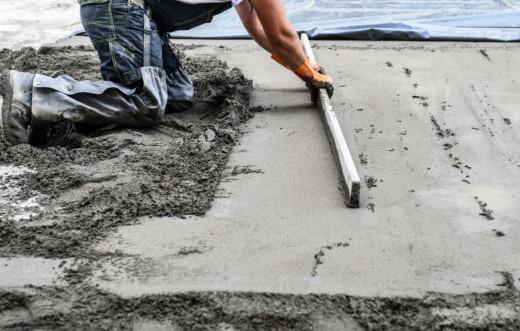 Схватывание бетона